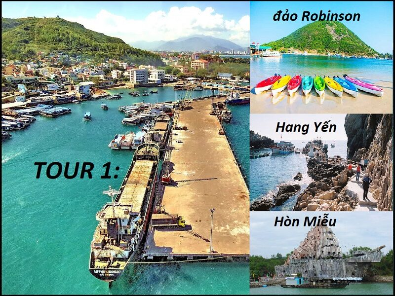 Gơi ý lịch trình tour 4 đảo ở Nha Trang
