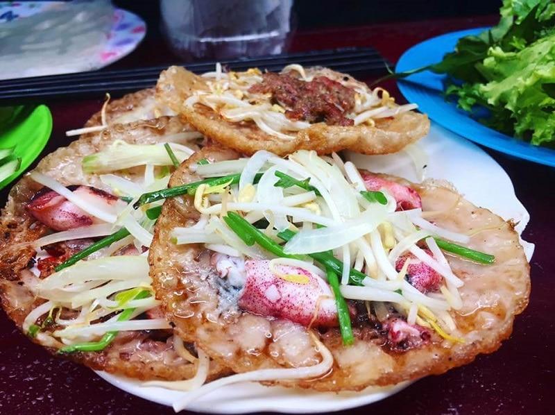 Địa chỉ các quán bánh xèo ở Nha Trang ăn là ghiền