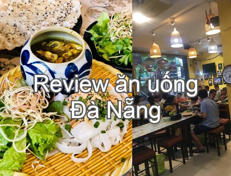 Các quán ăn ngon Đà Nẵng nổi tiếng. Du lịch Đà Nẵng ăn quán nào ngon? Mì quảng ếch Bếp Trang