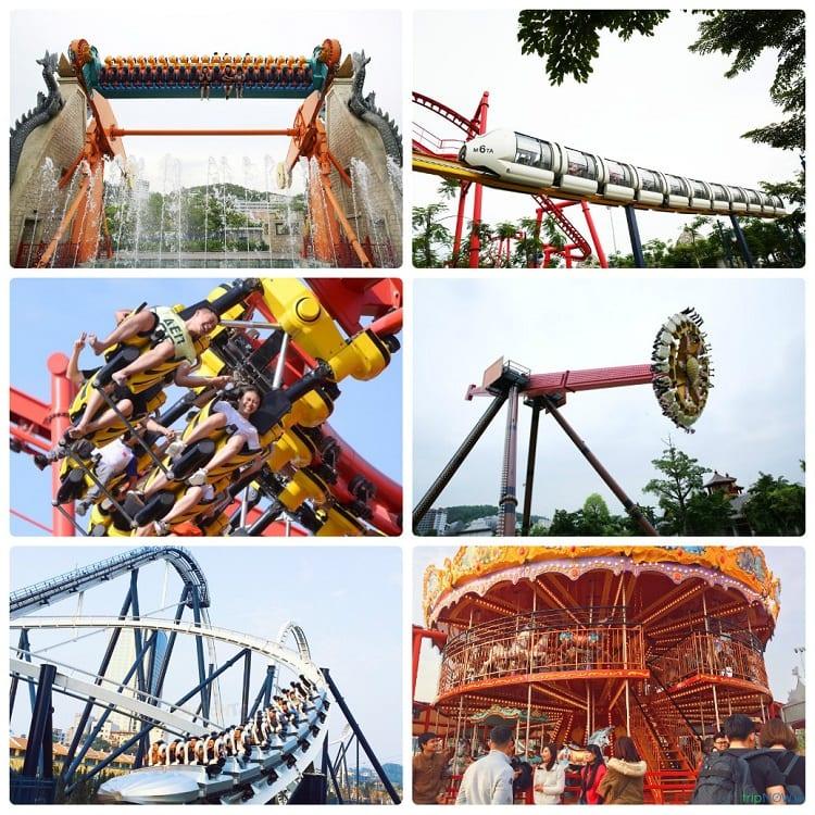 Địa điểm vui chơi ở Hạ Long, công viên Rồng