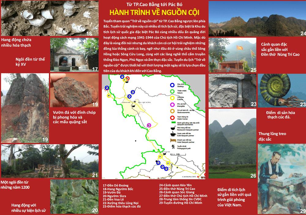 Review công viên địa chất Non Nước cao Bằng, tuyến 2 trở về cội nguồn