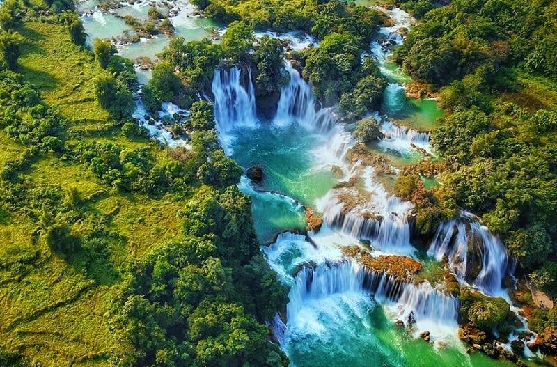 Review công viên địa chất Non Nước Cao Bằng, thác Bản Giốc