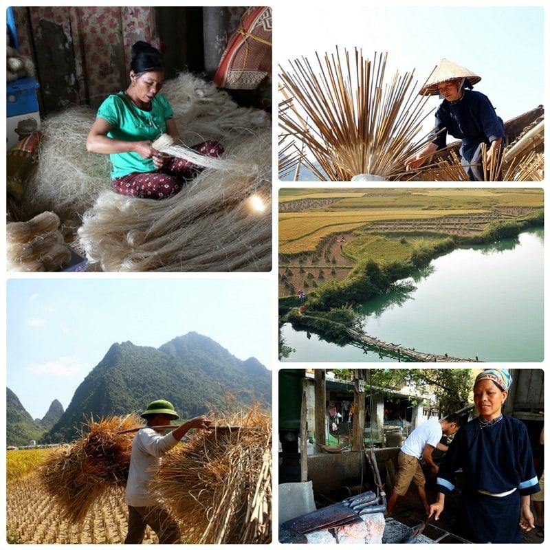 Review công viên địa chất Non Nước Cao Bằng, khám phá văn hóa bản địa ở công viên địa chất Non Nước Cao Bằng