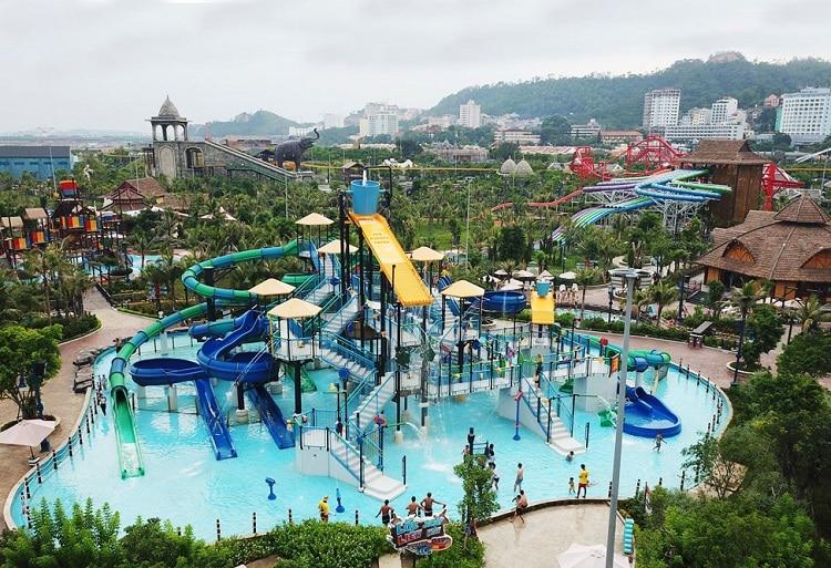 Địa điểm vui chơi ở Hạ Long, Công viên nước Typhoon Water