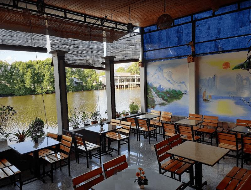 Địa chỉ các quán cafe đẹp ở Phú Quốc nằm ven sông. Đi đâu uống cafe ở Phú Quốc? Coffee Riverside