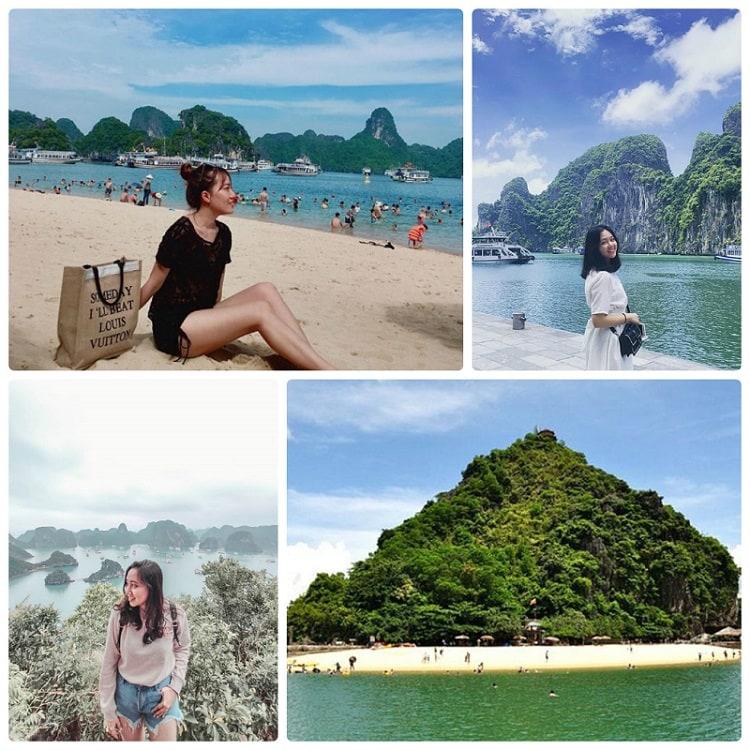 Địa điểm du lịch Hạ Long đẹp, đảo Ti Tốp