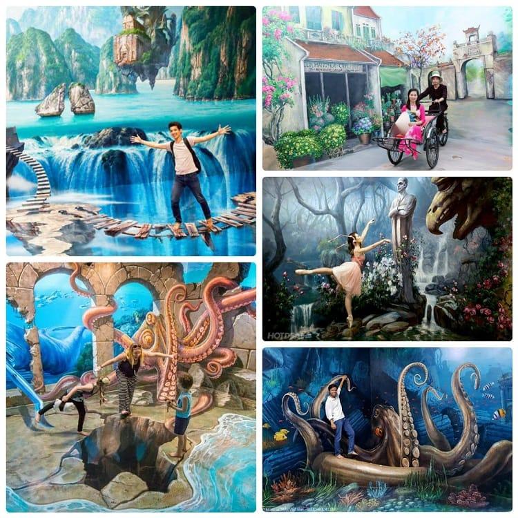 Địa điểm vui chơi ở Hạ Long, Bảo tàng tranh 3D Funny Art