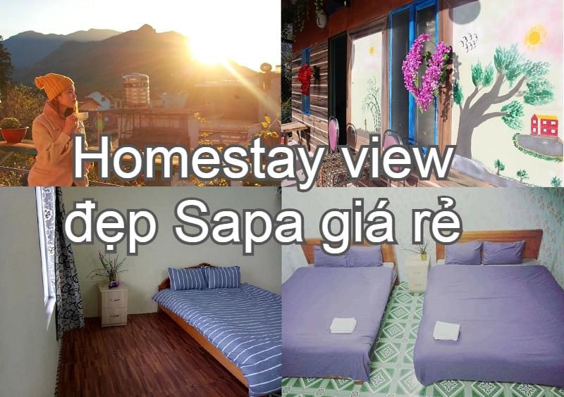 Homestay view đẹp ở Sapa giá rẻ. Du lịch homestay ở Sapa. Sapa Tatu Homestay