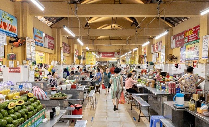 Khu ẩm thực Đà Nẵng ngon rẻ. Chỗ ăn ngon ở Đà Nẵng. Chợ Cồn