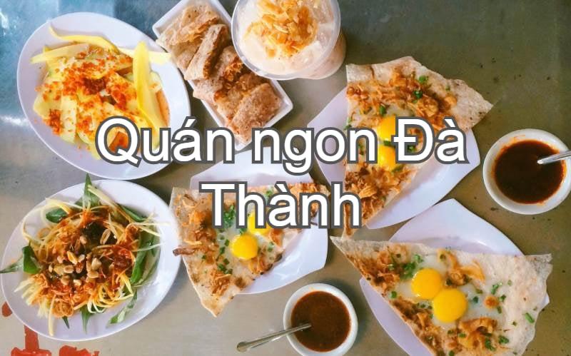 Quán ăn ngon ở Đà Nẵng. Địa điểm ăn uống Đà Nẵng. Bánh tráng kẹp Dì Hoa