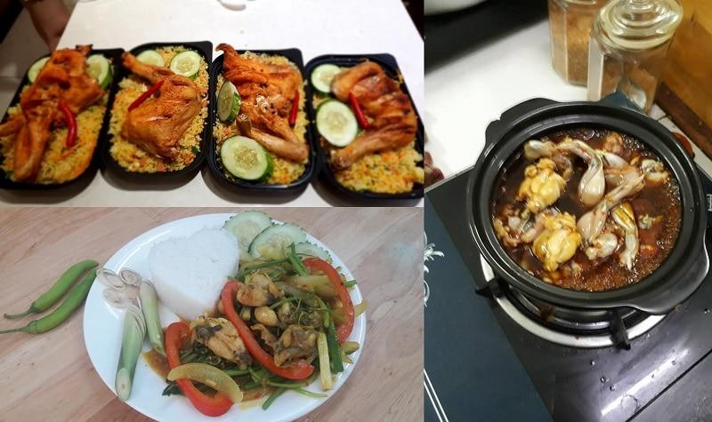 QuQuán ăn trưa ngon rẻ ở Đà Nẵng đông khác. Món ăn trưa ngon ở Đà Nẵng. Cháo ếch Singapore Shinshu