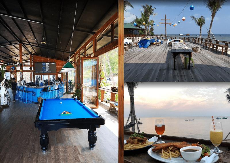 Quán cafe ven biển Phú Quốc view đẹp. Nên đi đâu uống cafe ở Phú Quốc? Rory Beach Bar Coffee