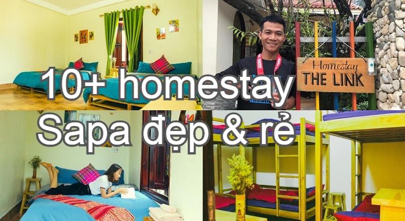 Tìm các homestay đẹp ở Sapa giá rẻ. Nên ở homestay nào Sapa? The Link Homestay