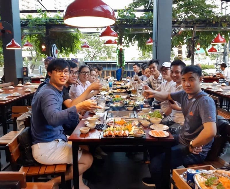 Trưa ăn gì ở Đà Nẵng ngon. Quán ăn trưa ngon Đà Nẵng. Phố nướng Tokyo