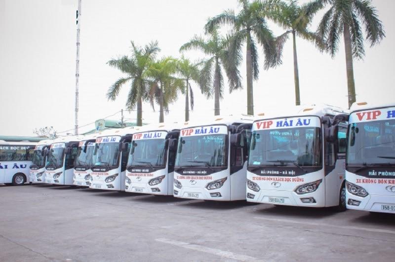 Xe khách Hà Nội Hải Phòng, xe Hải Âu Hà Nội Hải Phòng