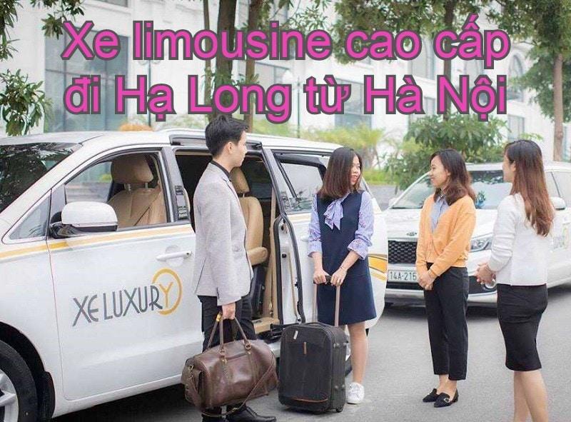 Xe limousine Hà Nội đi Hạ Long cao cấp. Từ Hà Nội đi Hạ Long có xe limouisne nào? Luxury Transport