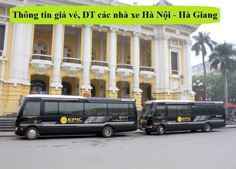 Thông tin giá vé, lịch chạy xe, điện thoại các nhà xe tuyến Hà Nội - Hà Giang mới nhất