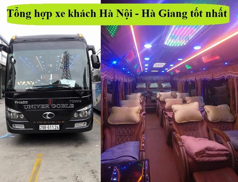 Xe khách Hà Nội - Hà Giang tốt nhất kèm giá vé, điện thoại. Thông tin các hãng xe khách Hà Nội đi Hà Giang