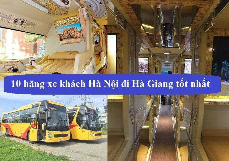 Xe khách Hà Nội đi Hà Giang chất lượng tốt nhất