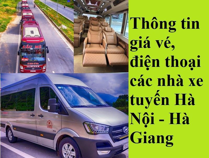 Xe khách Hà Nội đi Hà Giang tốt nhất kèm giá vé, điện thoại