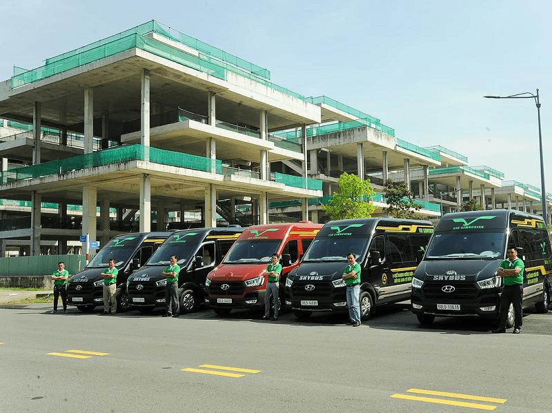 Xe khách Vũng Tàu đi Sài Gòn tốt nhất & giá vé, điện thoại. Xe Vie limousine