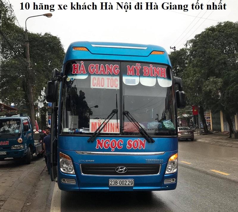 Xe khách đi Hà Giang từ Hà Nội giá rẻ, chất lượng tốt. Từ Hà Nội đi Hà Giang có xe khách nào?