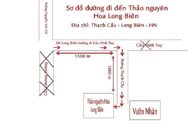 Hướng dẫn đường đi tới con đường lá đỏ ở Hà Nội
