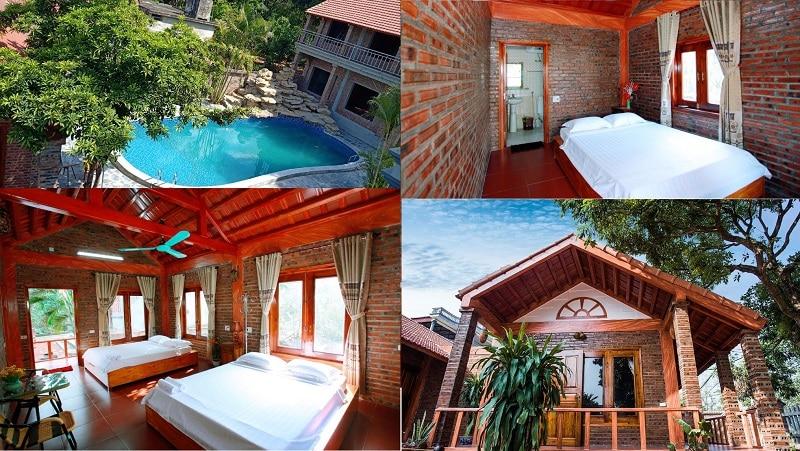 Homestay Ninh Bình có hồ bơi ngoài trời giá rẻ. Homestay đẹp, chất lượng ở Ninh Bình