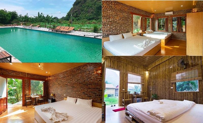 Homestay giá rẻ ở Ninh Bình, có phòng đẹp, tiện nghi. Ninh Bình có homestay nào đẹp, chất lượng?