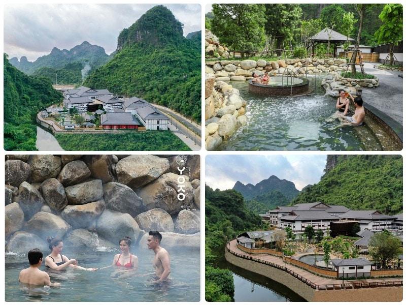 Địa điểm đón Tết gần Hà Nội, suối khoáng Yoko Onsen Quanh Hanh